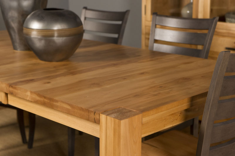 Heartwood Block Leg Table