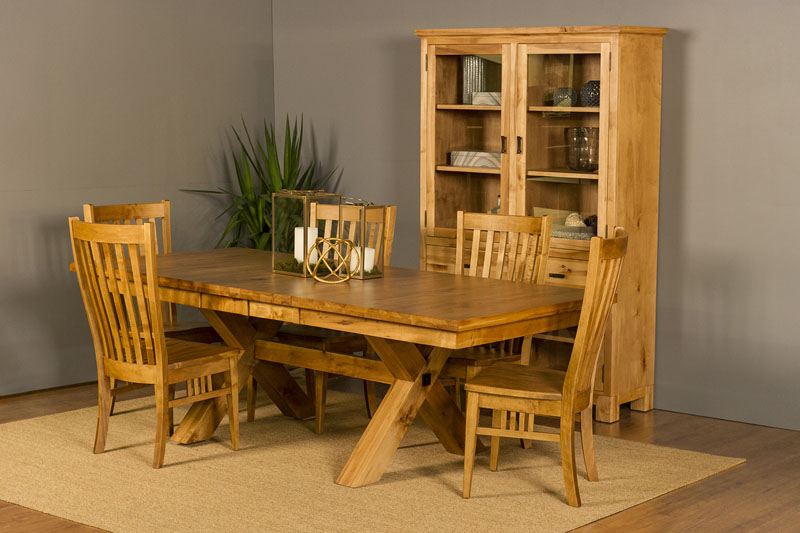 Heartwood X-Base Trestle Table