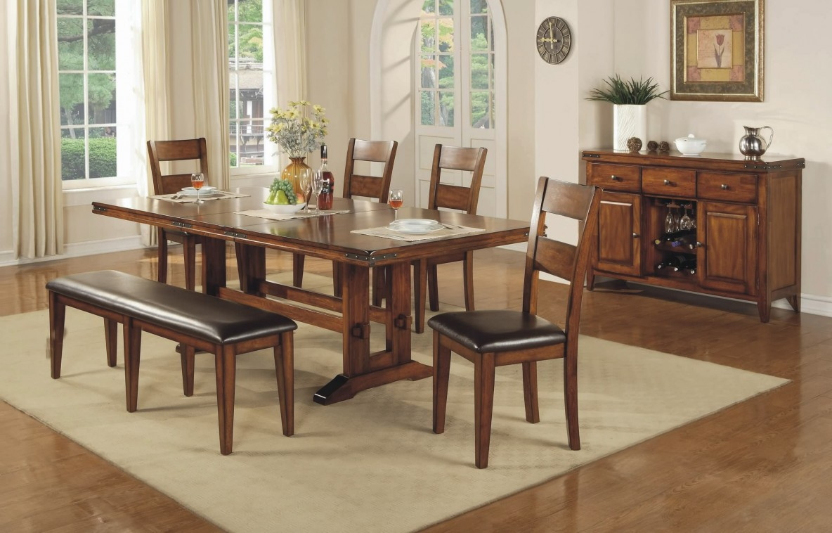Mango Table Bench And Chairs