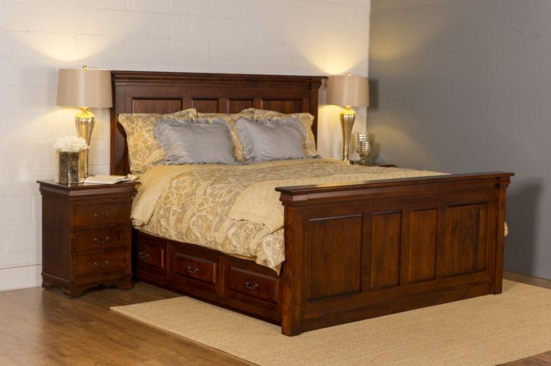 Morgan King Captains Bed