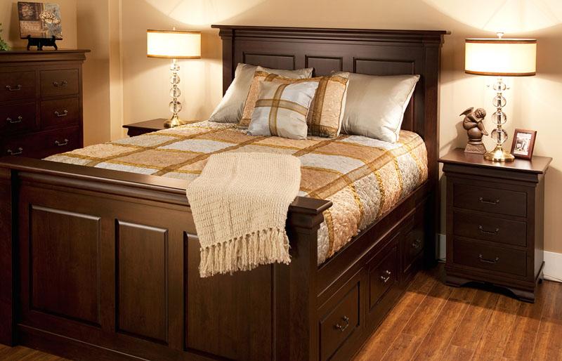 Morgan Queen Captain Bedroom