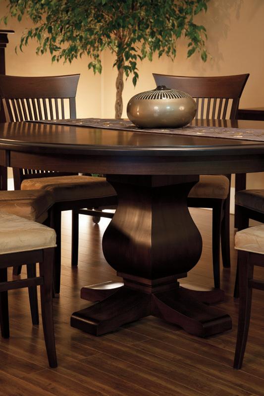 Morgan Round Pedestal Table
