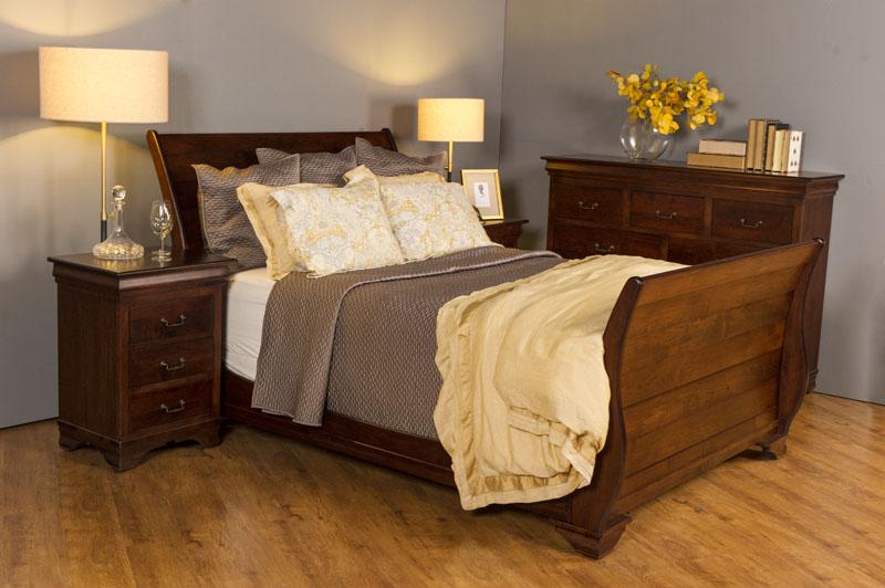Morgan Sleigh Bed