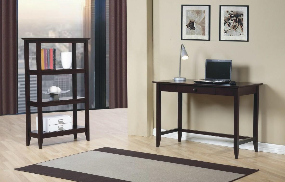 Quadra Writing Desk And Bookcase