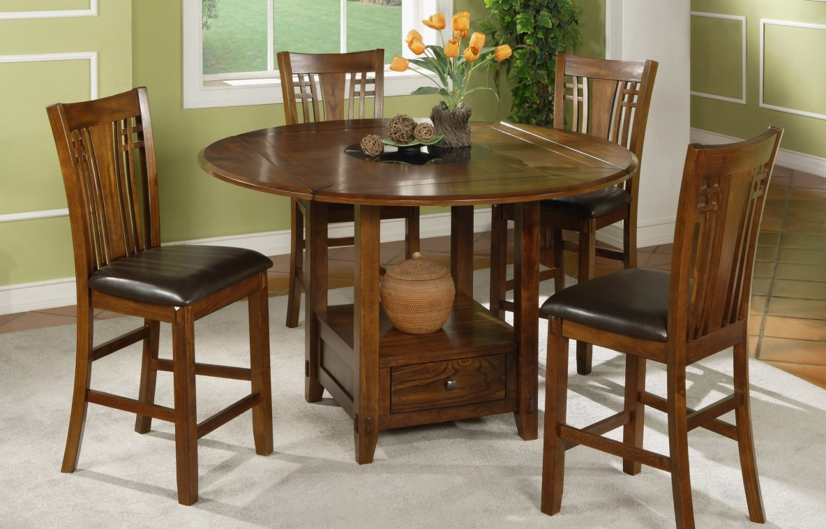 Zahara Round Tall Table